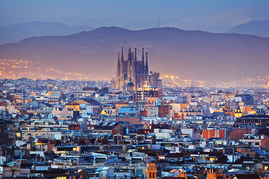 Train Tour of Barcelona, Madrid and Andalucia